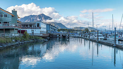 Photograph - Seward Harbor In Alaska by Brenda Jacobs