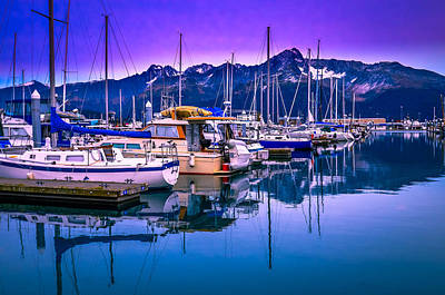 Photograph - Seward Sunrise by Brian Stevens