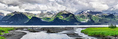 Alaska Mountains Photograph - Sewards Allure by Ed Boudreau