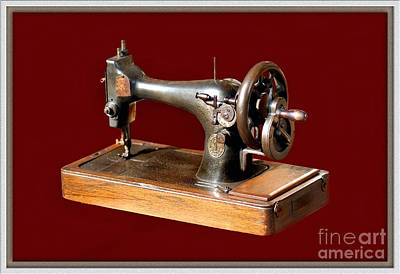 Classic Christmas Movies - Sewing Machine by Charuhas Images