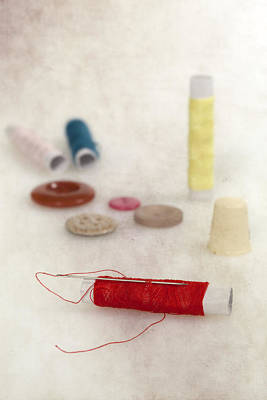 Photograph - Sewing Supplies by Joana Kruse