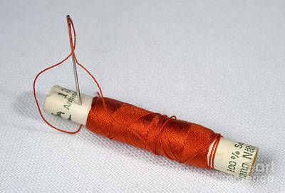 Sewing Supplies Art Print by Torsten Becker