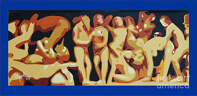 Painting - Sex And Spirituality by Ragunath Venkatraman