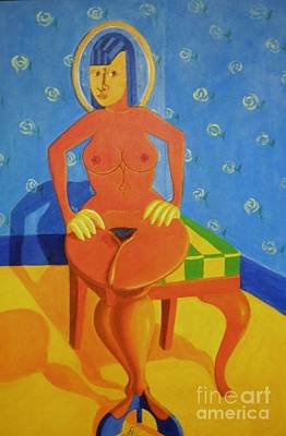 Painting - Sex Appeal Of A Dinette Set. by David G Wilson