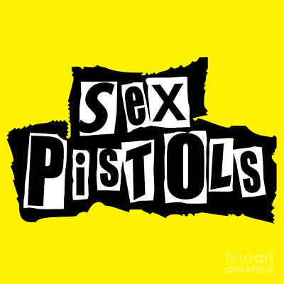 Rock N Roll Digital Art - Sex Pistols by Caio Caldas