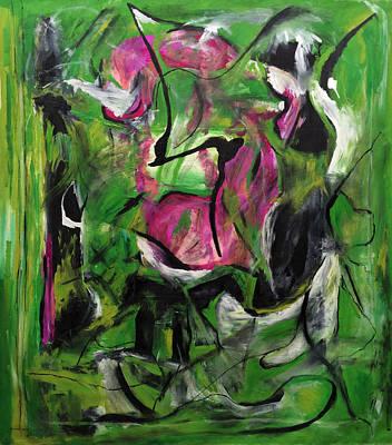 Sexual Energy Art Print by Antonio Ortiz
