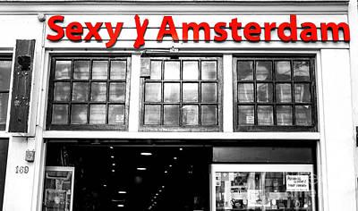 Photograph - Sexy Amsterdam Fusion by John Rizzuto