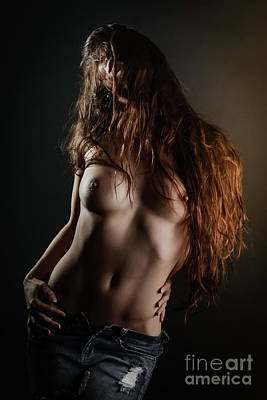 Provocative Photograph - Sexy Hair by Jt PhotoDesign