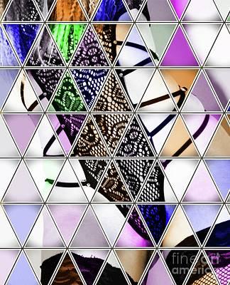 Woman Bondage Digital Art - Sexy Pop Art By Mb by Mary Bassett