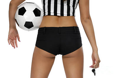 Sexy Referee Art Print