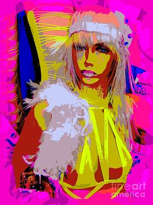 Boa Constrictor Mixed Media - Sexy Sadie by Ed Weidman