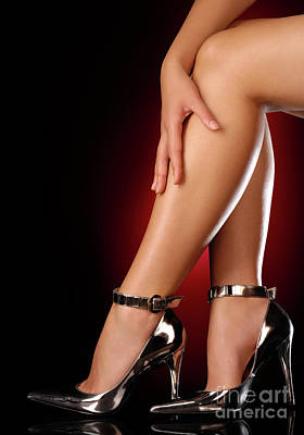 Stiletto Heel Photograph - Sexy Shoes by Oleksiy Maksymenko