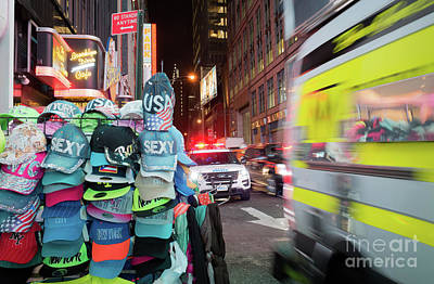 Photograph - Sexy Usa New York, Times Square #130792 by John Bald