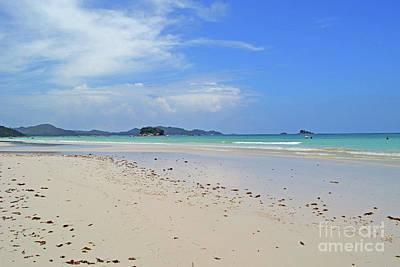 Digital Art - Seychelles Islands 4 by Eva Kaufman