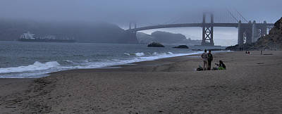 Photograph - Sf Baker Beach by Michael Gordon