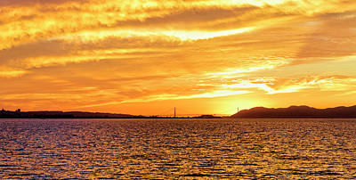 Photograph - Sf Bay Area Sunset by Patricia Sanders