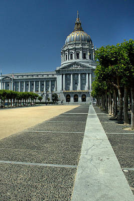 Photograph - Sf City Hall 1 by Michael Gordon