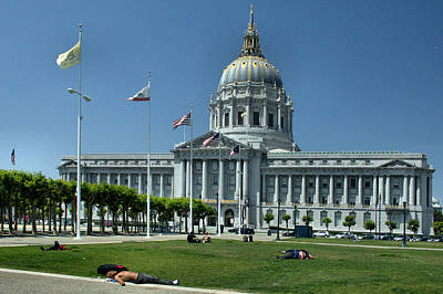 Photograph - Sf City Hall 2 by Michael Gordon