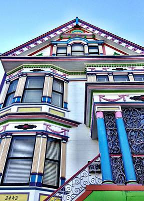 Photograph - Sf Colors by Julie Gebhardt