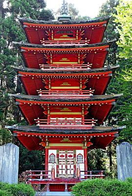 Photograph - Sf Japanese Tea Garden Study 12 by Robert Meyers-Lussier