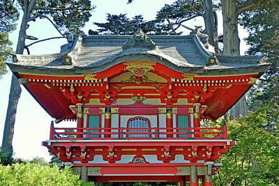 Photograph - Sf Japanese Tea Garden Study 14 by Robert Meyers-Lussier