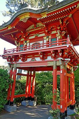 Photograph - Sf Japanese Tea Garden Study 16 by Robert Meyers-Lussier