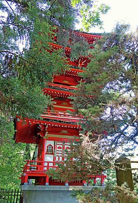 Photograph - Sf Japanese Tea Garden Study 17 by Robert Meyers-Lussier