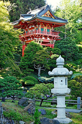 Photograph - Sf Japanese Tea Garden Study 19 by Robert Meyers-Lussier
