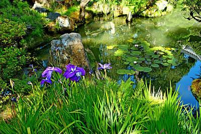 Photograph - Sf Japanese Tea Garden Study 4 by Robert Meyers-Lussier