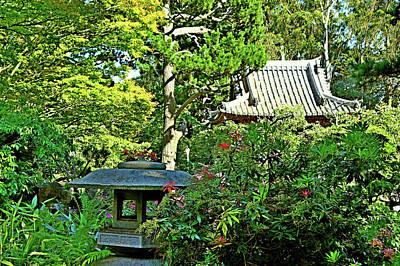 Photograph - Sf Japanese Tea Garden Study 5 by Robert Meyers-Lussier