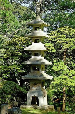Photograph - Sf Japanese Tea Garden Study 7 by Robert Meyers-Lussier