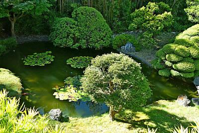 Photograph - Sf Japanese Tea Garden Study 9 by Robert Meyers-Lussier