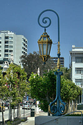 Photograph - Sf Lamp by Michael Gordon