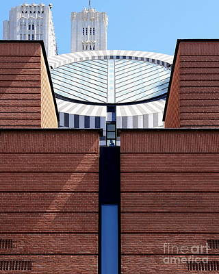 Photograph - Sf Museum Of Modern Art Sfmoma by Wingsdomain Art and Photography