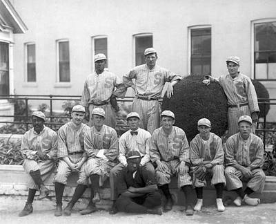 Sf Seals Baseball Team Print by Underwood Archives