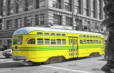 Photograph - Sf Streetcar by Matthew Bamberg