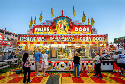 Hot Dogs Photograph - Sgt. Pepper's Lonely Hearts Club Stand by Todd Klassy