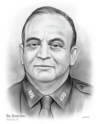 Sgt. Steven Perez Art Print
