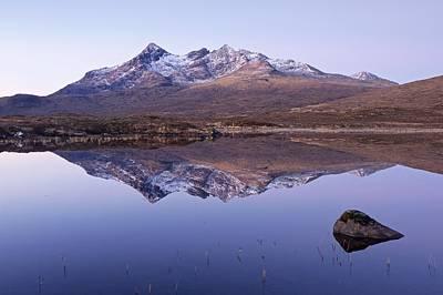 Photograph - Sgurr Nan Gillean At Dawn by Stephen Taylor