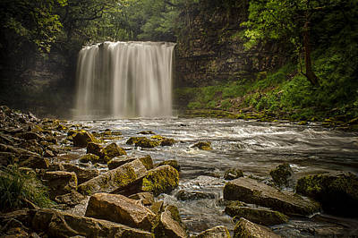 Photograph - Sgwd Yr Eira by Stewart Scott