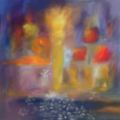 Allah Painting - Shaaf 510 1 by Mawra Tahreem