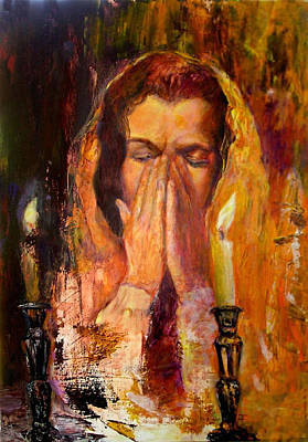 Shabbat's Pray Art Print