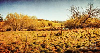 Prairie Landscape Wall Art - Photograph - Shabby Country Farmland by Jorgo Photography - Wall Art Gallery