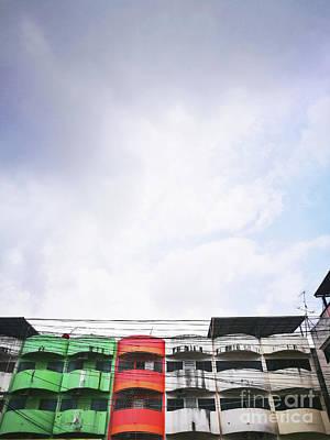 Photograph - Shabby Shop House  by Sirikorn Techatraibhop