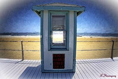 New Jersey Digital Art - Shack Off The Beach by Richard Hemingway