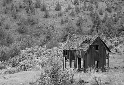 Photograph - Shack On A Hill by Angi Parks