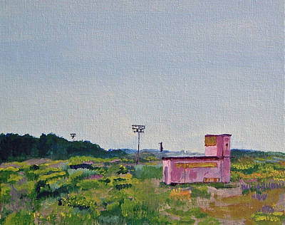 Painting - Shack On Sunrise Drive In Monterey by Paul Thompson