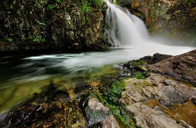Waterfalls Photograph - Shackleford Falls by Loree Johnson