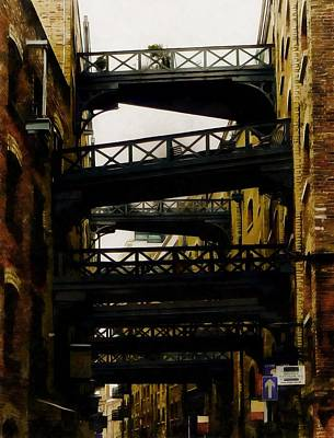 Photograph - Shad Thames In The Shadows by Dorothy Berry-Lound