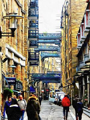 Photograph - Shad Thames Street View by Dorothy Berry-Lound
